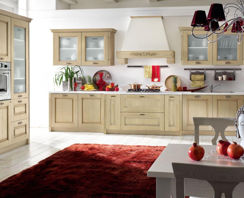 Cucina classica contea stokline porlezza for Cucina moderna classica